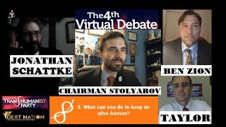 Fourth Virtual Debate Among U.S. Transhumanist Party Presidential Candidates