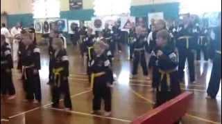 Zen Do Kai orange belt grading 24th Nov 2013