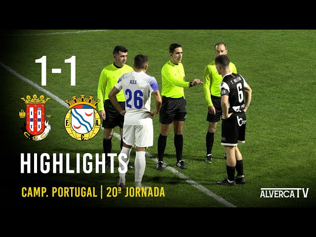 Caldas SC 1-1 FC Alverca | Highlights
