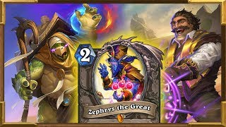 Hearthstone: Highlander Mage | ZEPHRYS THE GREAT The Best Card | Saviors Of Uldum New Decks