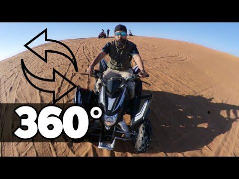Dubai Red Desert in 360° Insta360 One R , United Arab Emirates