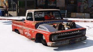 GTA 5 mod 1966 Chevrolet C10 Speed Shop