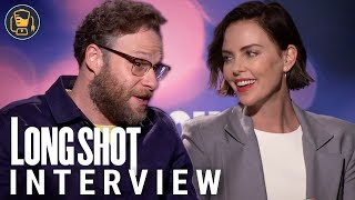Long Shot Exclusive Interviews with Seth Rogen, Charlize Theron and More