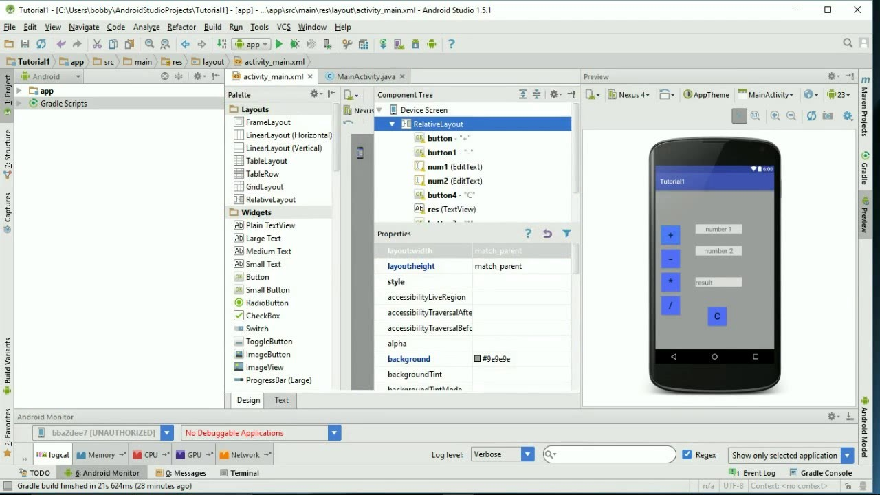 Android Studio Email Senden