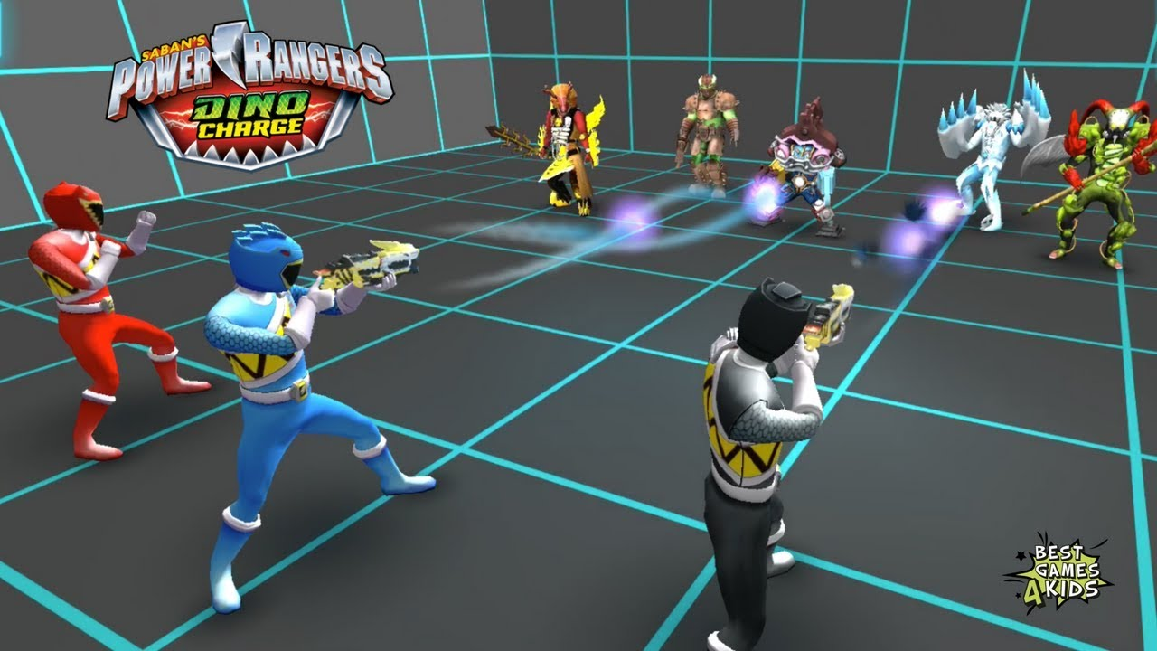 Download ARENA MEGA BATTLE! | Power Rangers Dino Charge Rumble HD By StoryToys Entertainment Limited