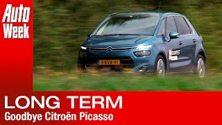Afscheid duurtest - Citroën Picasso