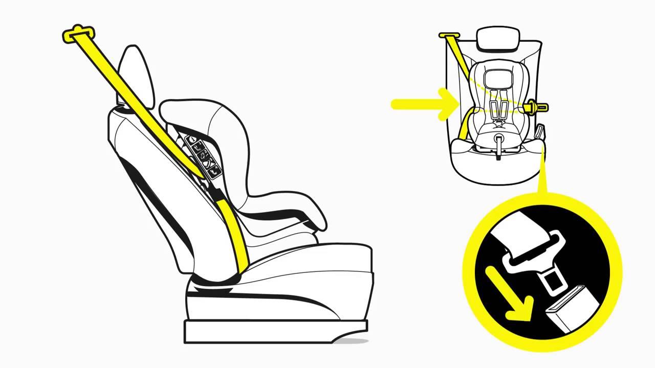 Схема крепления детского кресла фото 443