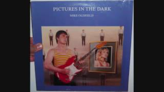 "Mike Oldfield Featuring Aled Jones, Anita & Barry Palmer - Pictures in the dark (1985 12"")"