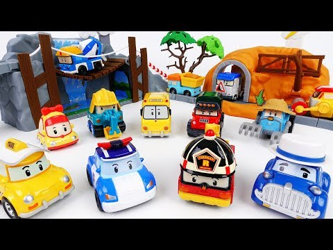 Thumbnail: An Exciting Day in The Brooms Town~! Robocar Poli Adventure Playset - ToyMart TV