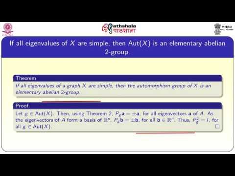 Automorphisms of graphs and adjacency matrix (MATH)