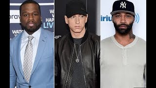 "50 Cent Clowns Joe Budden For Getting Disses By Eminem, ""Joe You Got Your A** Whooped"""