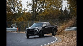 BTS Of Vaughn Gittin Jr.'s Ford Raptor Nürburgring Drift