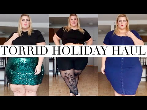 Torrid Winter + Holiday Plus Size Haul