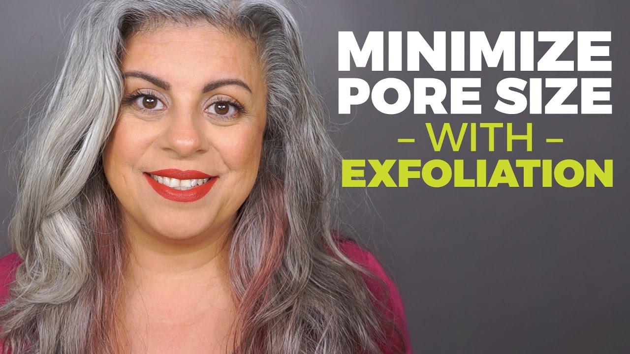How To Shrink Pores With Exfoliation  Skincare Over 40