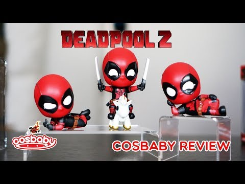Deadpool 2 Cosbaby Hot Toys Review Unbox