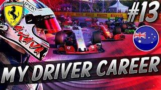 CAR FAILURE! UNREAL PENULTIMATE RACE! - F1 MyDriver CAREER S8 PART 13: AUSTRALIA