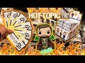 Hot Cash Funko Pop Hunting | $250 Spent at Hot Topic