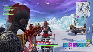 Fortnite battle royale getting the squads pin W/ Lochie Bailey and Ziggy