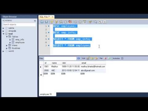 SQL Tutorial - 13: Inserting Data Into a Table From Another Table