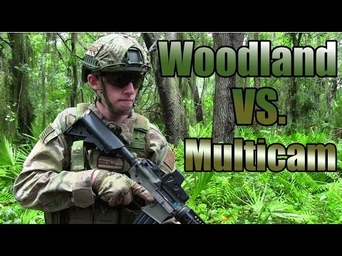 Camo Vs. Camo - Woodland Vs. Multicam