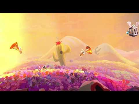 Rayman Legends - Mariachi Madness Walkthrough [UK]