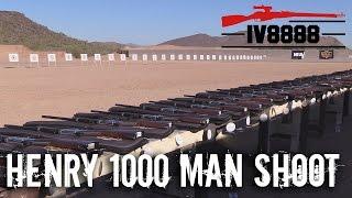 Henry 1000 Man Shoot