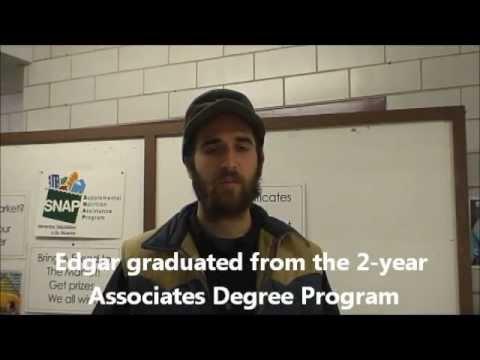 Edgar studies Sustainable Food and Farming at UMass