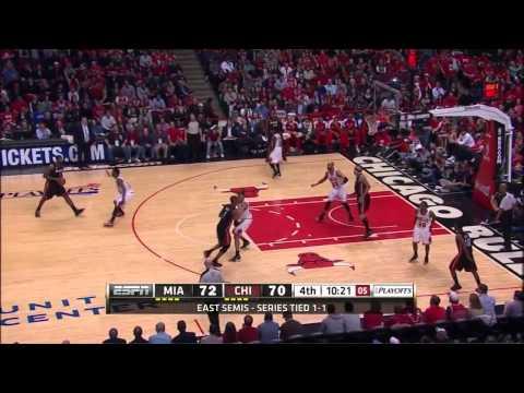Jimmy Butler defense on LeBron James - 2013 ECSF