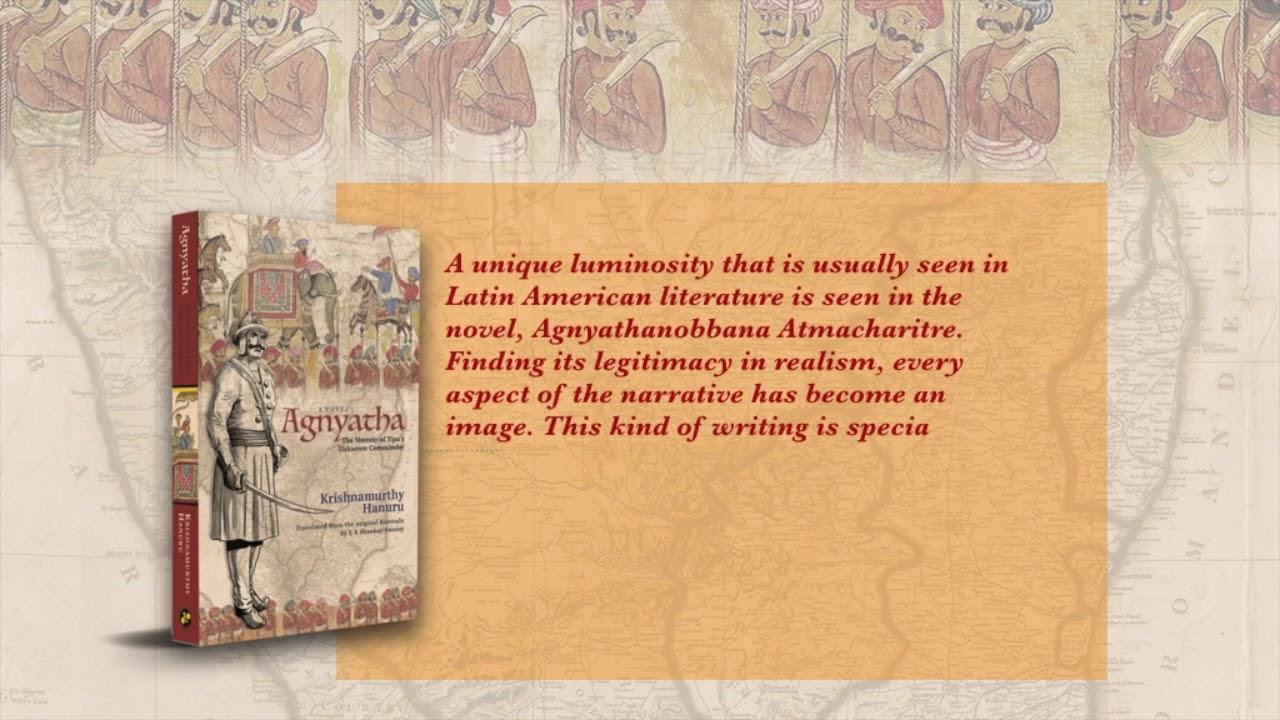 Agnyatha| Krishnamurthy Hanuru| Book Promo| U R Ananthamurthy