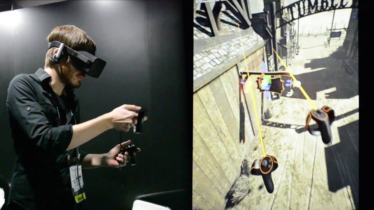Watch Epic Games' Nick Donaldson Build a Scene in Unreal's VR Editor