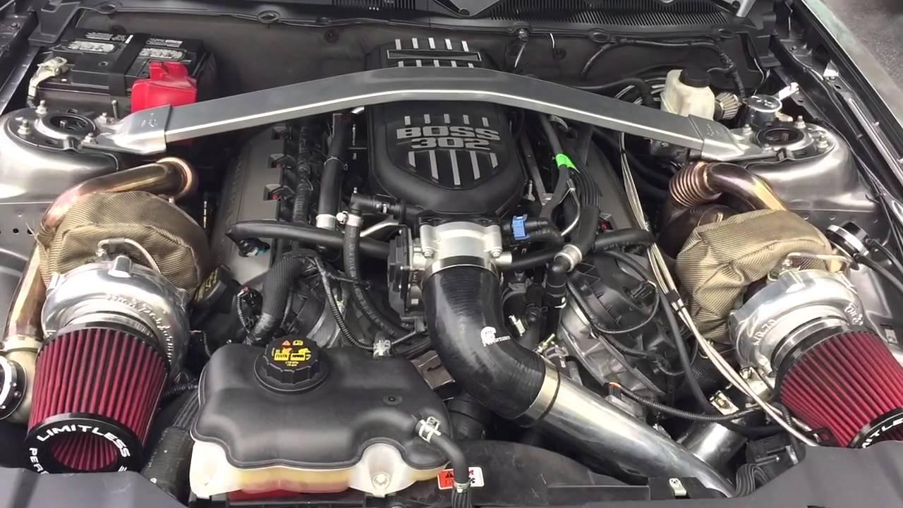 Twin Turbo Mustang 5 0 Youtube