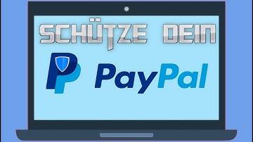 Paypal Konto schützen [Tutorial]