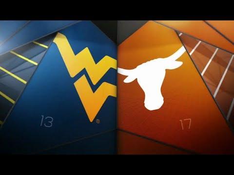 NCAAF 2018 11 03 West Virginia At Texas 720p60