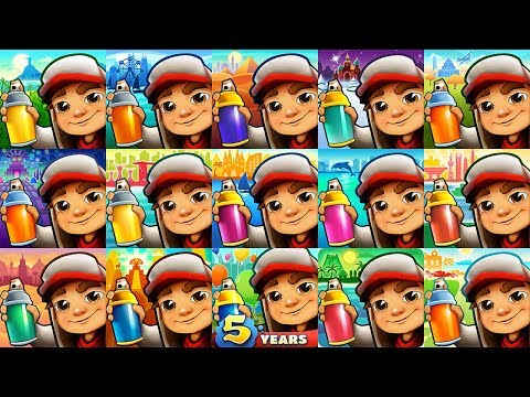 Subway Surfers 2019 Rio VS Chicago Cairo Miami Singapore Barcelona Shanghai Peru Hawaii Mexico