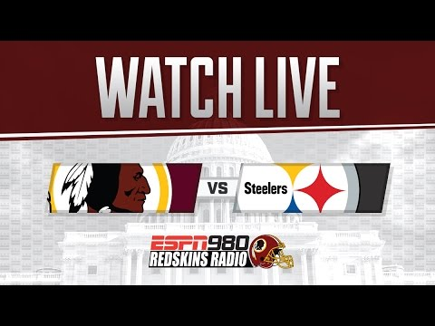 Redskins Radio Booth LIVE vs Pittsburgh Steelers