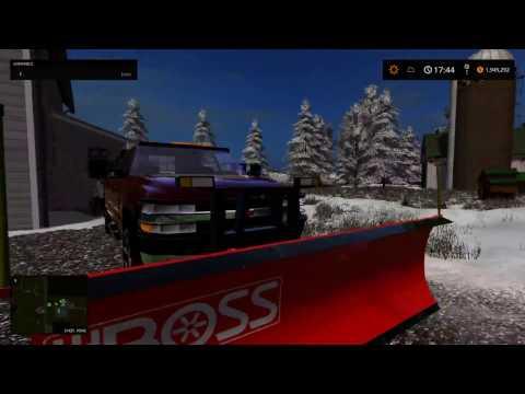 My Snowplow Fleet+Plowing A Few Places