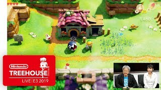 Download The Legend of Zelda: Link's Awakening Gameplay - Nintendo Treehouse: Live | E3 2019 Mp3 and Videos