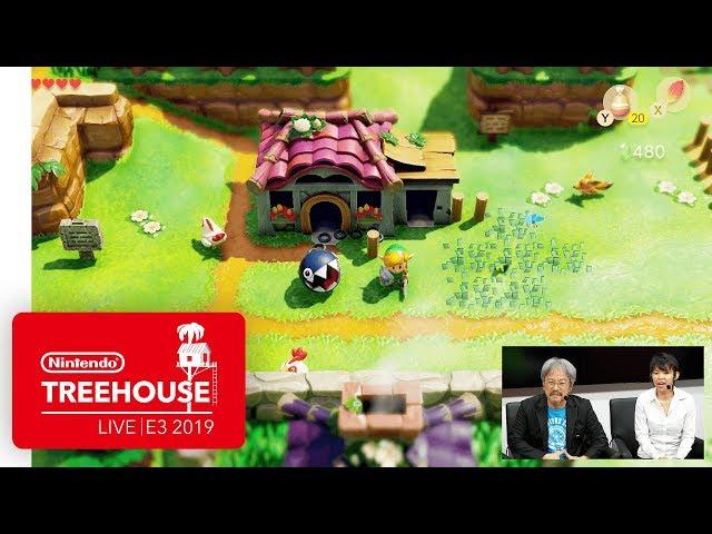 The Legend of Zelda: Link's Awakening Gameplay - Nintendo Treehouse: Live | E3 2019