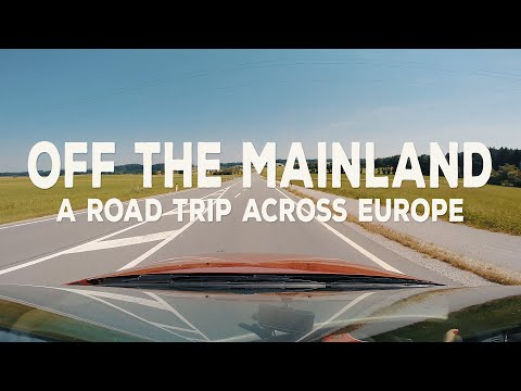 A road trip across Europe