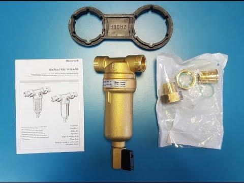 Фильтр грубой очистки самопромывной HONEYWELL Mini Plus FF06 на горячую воду