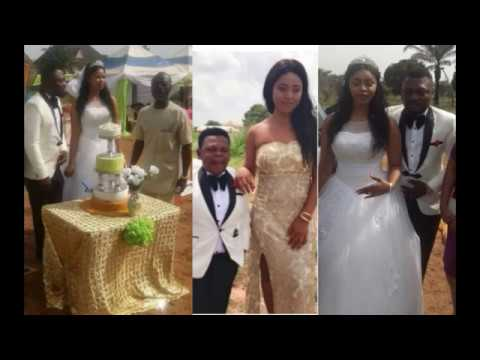 Prince Nwafor traditional and white wedding,Osita Iheme & Regina Danielsbest man & maid of honour
