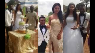 Prince nwafor traditional and white wedding,osita iheme & regina danielsbest man & maid of honour