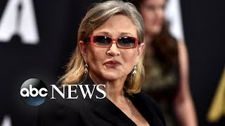 Carrie Fisher remembered on 1st anniversary of her death