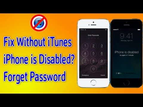 How to Fix Disabled iPhone Without ITunes - I forget my iPhone passcode New  Trick 100% Tested