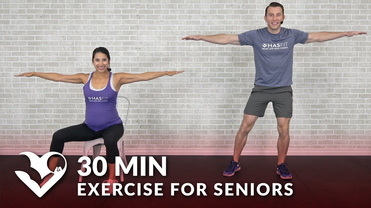 30 minutes in chair exercises for seniors disposable covers folding chairs min exercise elderly older people seated senior workout routines