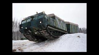 Супервездеход Витязь Військова техніка високої прохідності