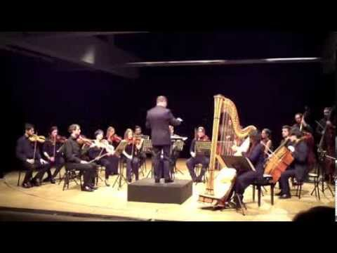Orchestra Polledro - Claude Debussy Danse Sacrée et Danse profane per arpa e orchestra d