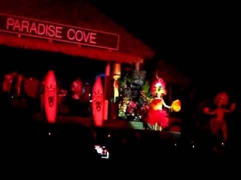 Paradise Cove Hawaii Flame Throwers