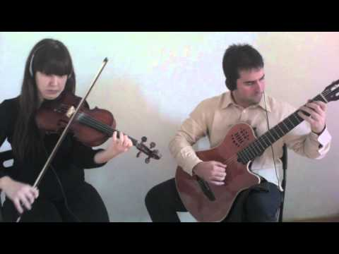 Nothing else matters. Violin & classical guitar. Amalia & Manuel