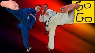 Тхэквондо WTF против тхэквондо ITF — сравнение техники и тактики (Дмитрий Ложенский, Антон Шаманин)